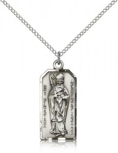 Women's St. Patrick Apostle of Ireland Pendant [BM0816]