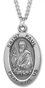 St. Paul Medal Sterling Silver [HMM1135]