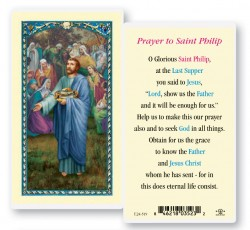 St. Philip Laminated Prayer Cards 25 Pack [HPR519]