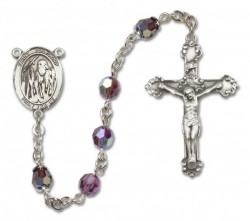 St. Polycarp of Smyrna Sterling Silver Heirloom Rosary Fancy Crucifix [RBEN1330]