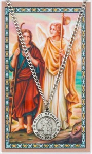 St. Raphael the Archangel Medal with Prayer Card [PC0097]