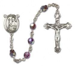 St. Regis Sterling Silver Heirloom Rosary Fancy Crucifix [RBEN1337]
