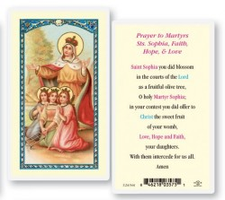 St. Sophia Laminated Prayer Cards 25 Pack [HPR544]