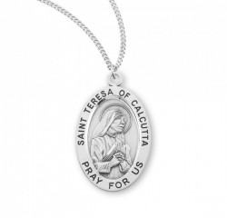 St. Teresa of Calcutta Oval Medal [HMM3162]