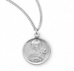 St. Therese Medal Sterling Silver [REM2055]