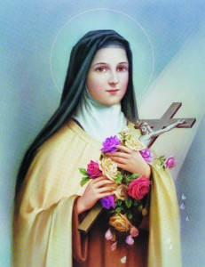 St. Therese Print - Sold in 3 per pack [HFA1175]