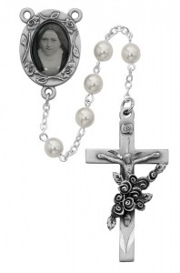 St. Therese portrait Rosary [MVRB1073]