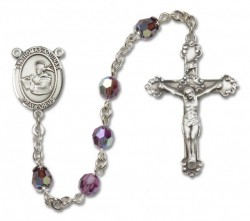 St. Thomas Aquinas Sterling Silver Heirloom Rosary Fancy Crucifix [RBEN1404]