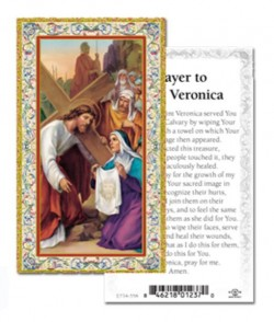 St. Veronica Prayer Cards 100 Pack [HPR868]