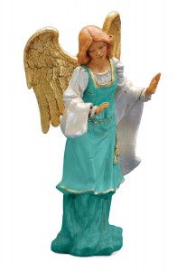 Standing Angel Figure for 18 inch Nativity Set [RM0100]
