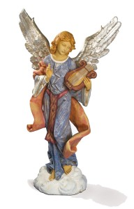 Standing Angel on Cloud Figure for 50 inch Nativity Set [RM0201]