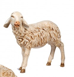 Standing Sheep Figure for 50 inch Nativity Set [RM0204]