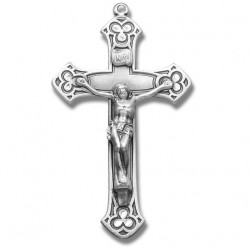 Antique Silver Sterling Silver Rosary Crucifix [RECRX024]