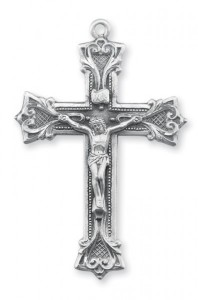 Sterling Silver Rosary Crucifix [RECRX031]
