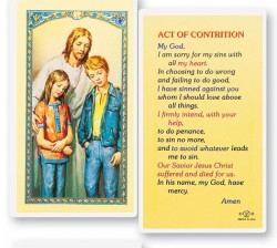 The Comforter Act of Contrition Laminated Prayer Cards 25 Pack [HPR764]