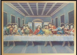 the last supper magnetic frame 4 per pack hfa0397