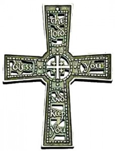The Lord Bless You and Keep You Wall Cross - 4.75 inches [TCG0086]