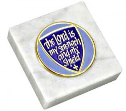 The Lord is My Strength Paperweight [TCG0032]