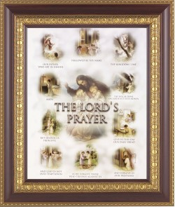 The Lord's Prayer Framed Print [HFP112]