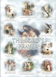 The Lord's Prayer Large Poster [HFA0377]