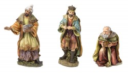"Three Kings Figures for Nativity Set  - 26.5""H [RM0355]"