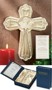 Tomaso Gift Cross: Confirmation [CR0603]