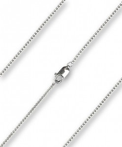 Women's Venetian Box Chain with Clasp [BLCH0009]