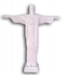 White Risen Christ Statue   11 Inches [GSCH1034]