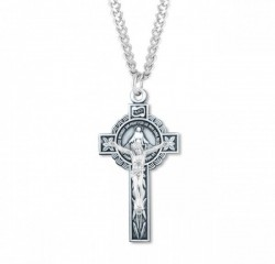 Women's Combination Miraculous Crucifix Necklace [HMM3307]