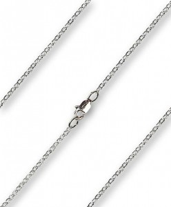 Women's Drawn Cable Chain with Clasp [BLCH0010]
