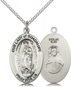 Women's Guadalupe of Central America Necklace [DM1206]
