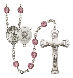 Women's Guardian Angel Coast Guard Birthstone Rosary [RBENW8118S3]