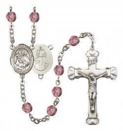 Women's Our Lady of Mount Carmel Birthstone Rosary [RBENW8243]