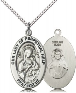 Women's Our Lady of Perpetual Help Hope Necklace [DM1222]