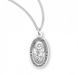 Women's Oval Saint Michael Medal [HMM3024]