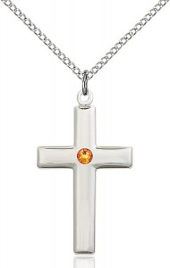 Women's Plain Cross Pendant [BLST2190]