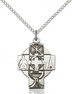 Women's RCIA Cross Pendant [CM1000]