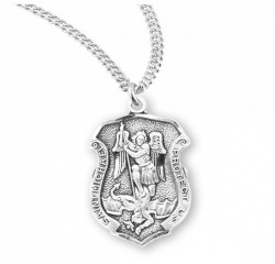 Women's Saint Michael Badge Medal [HMM3000]