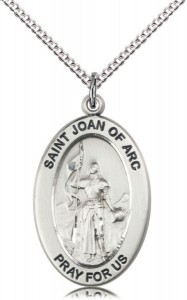 Women's St. Joan of Arc of Soldiers Necklace [DM1053]
