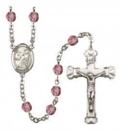 Women's St. Luke the Apostle Birthstone Rosary [RBENW8068]