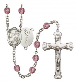 Women's St. Luke the Apostle Doctor Birthstone Rosary [RBENW8068S8]