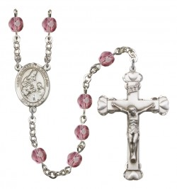 Women's St. Margaret of Scotland Birthstone Rosary [RBENW8407]
