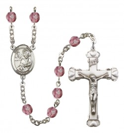 Women's St. Mark the Evangelist Birthstone Rosary [RBENW8070]