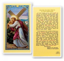 Wound In The Shoulder Laminated Prayer Cards 25 Pack [HPR769]