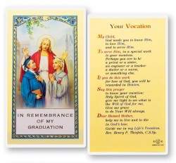 Your Vocation Guidance Laminated Prayer Cards 25 Pack [HPR755]