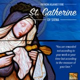 Saint Catherine of Siena — Feast Day April 29th
