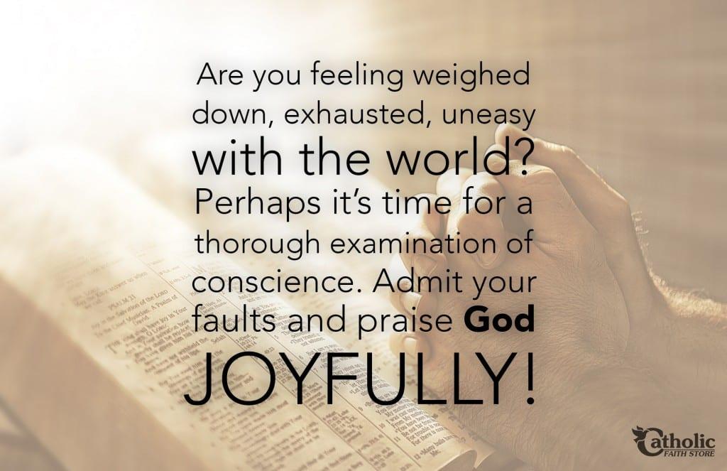 Admit Faults Praise God Joyfully