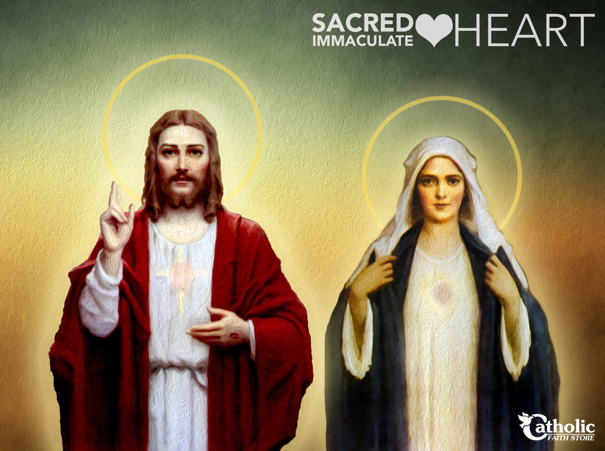 Sacred Heart — Immaculate Heart