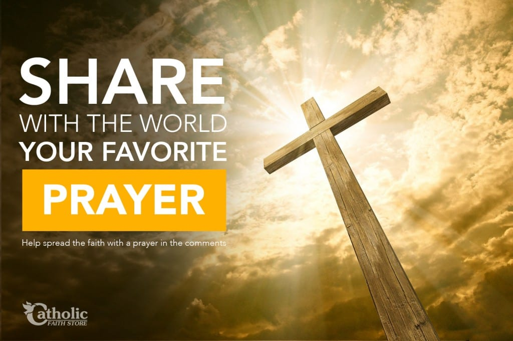 Share your favorite prayer with the world