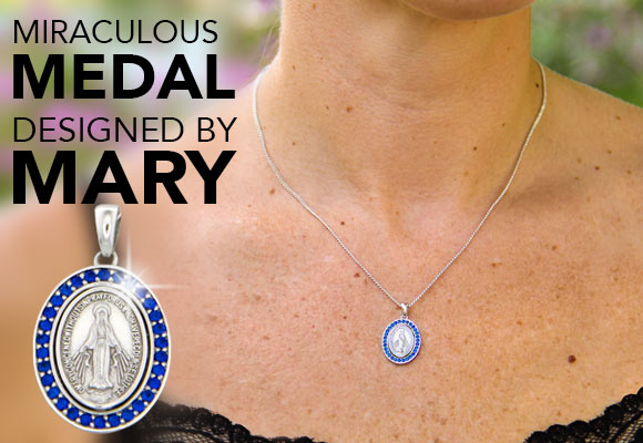 Miraculous Medal Designed by Mary